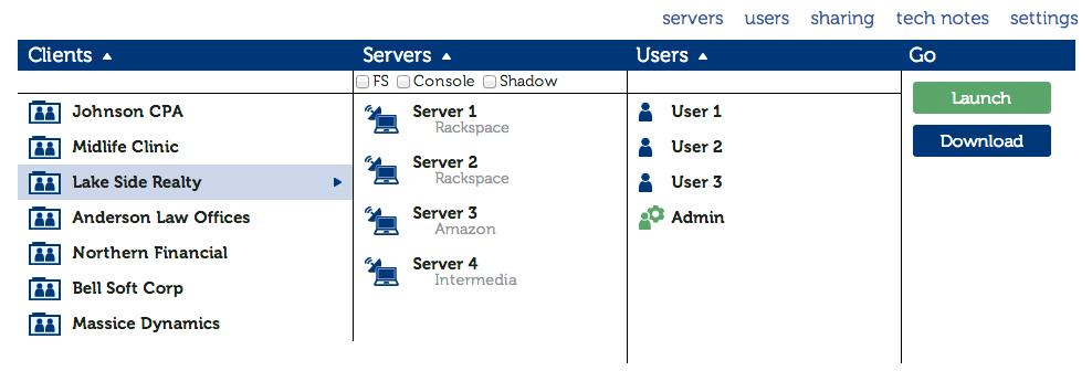 Remote desktop connection manager by deskulous